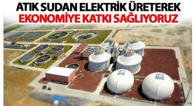 Atık Sudan Elektrik Üreterek Ekonomiye Katkı Sağlıyoruz