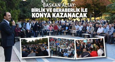 Başkan Altay, Konyaspor-Beşiktaş Maçında Özel Eıitim Öırencileriyle Buluştu