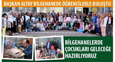 Başkan Altay: Nasreddin Hoca Yüzlerce Yıldır Gönüllerde Yaşıyor