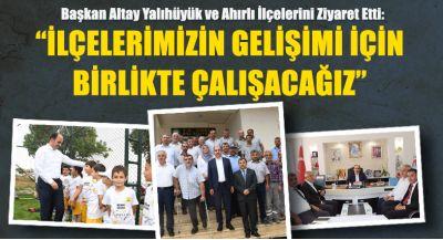 Başkan Altay: Çocuklarımızı Geleceıin Türkiyesi İçin Yetiştiriyoruz
