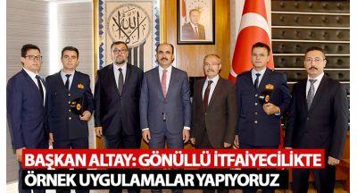 """Başkan Altay: """"Cuma Buluşmaları Güzel Bir Gelenek Oldu"""""""