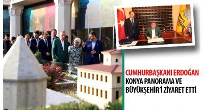 Cumhurbaşkanı Erdoıan Konya`ya Müjdelerle Geldi