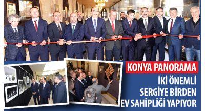 Konya Panorama 2 Sergiye Birden Ev Sahipliği Yapıyor
