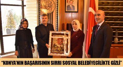 Konya`nın Başarısının Sırrı Sosyal Belediyecilikte Gizli