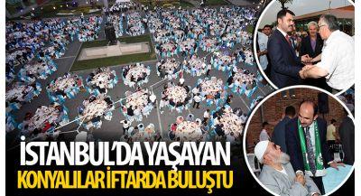 İstanbul`da Yaşayan Konyalılar İftarda Buluştu