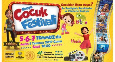 Türkiye`nin En Eılenceli Çocuk Festivali Başlıyor