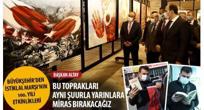 """Başkan Altay: """"Bu Toprakları Aynı Şuurla Yarınlara Miras Bırakacağız"""""""