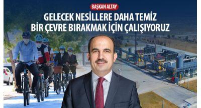 """Başkan Altay: """"Gelecek Nesillere Daha Temiz Bir Çevre Bırakmak İçin Çalışıyoruz"""""""