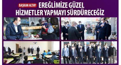 Başkan Altay: Ereğlimize Güzel Hizmetler Yapmayı Sürdüreceğiz