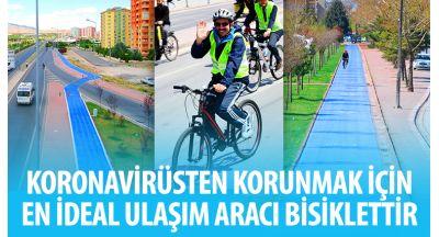 Başkan Altay: Koronavirüsten Korunmak İçin En İdeal Ulaşım Aracı Bisiklettir