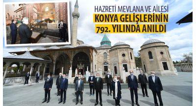 Hazreti Mevlana ve Ailesi Konya'ya Gelişlerinin 792. Yılında Anıldı