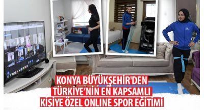 Konya Büyükşehir'den Türkiye'nin En Kapsamlı Online Spor Eğitimi