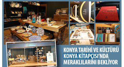Konya Tarihi ve Kültürü Konya Kitapçısı'nda Meraklılarını Bekliyor