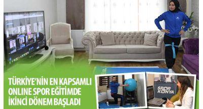 Türkiye'nin En Kapsamlı Online Spor Eğitiminde İkinci Dönem Başladı