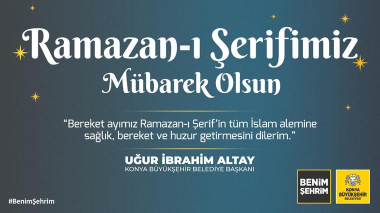 Ramazan-ı Şerifimiz Mübarek Olsun