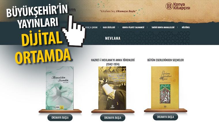 Konya Büyükşehir'in Yayınları Dijital Ortamda