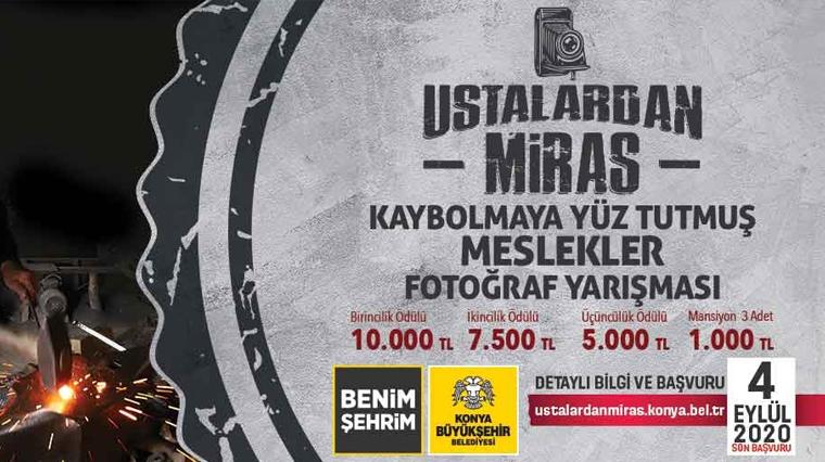 """Büyükşehir'den """"Ustalardan Miras"""" Fotoğraf Yarışması"""