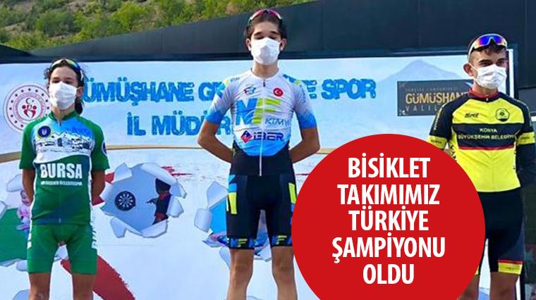 Bisiklet Takımımız Türkiye Şampiyonu Oldu