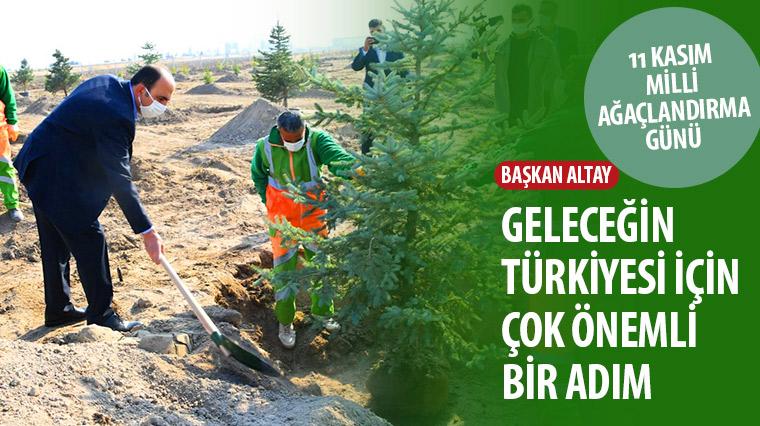 Başkan Altay: Geleceğin Türkiyesi İçin Çok Önemli Bir Adım