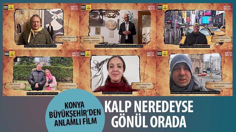 Konya Büyükşehir'den Anlamlı Film