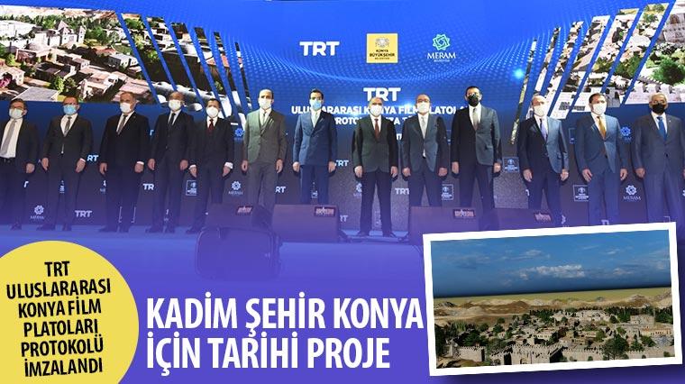 TRT Uluslararası Konya Film Platoları Protokolü İmzalandı