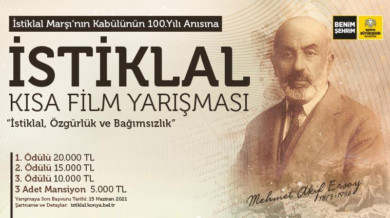 Büyükşehir'den İstiklal Marşı Konulu Kısa Film Yarışması