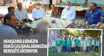 Başkan Altay ve Başkan Kılca'dan Mahalle Ziyaretleri