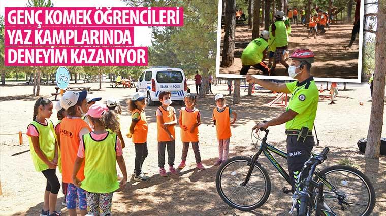 Genç KOMEK Öğrencileri Yaz Kamplarında Deneyim Kazanıyor