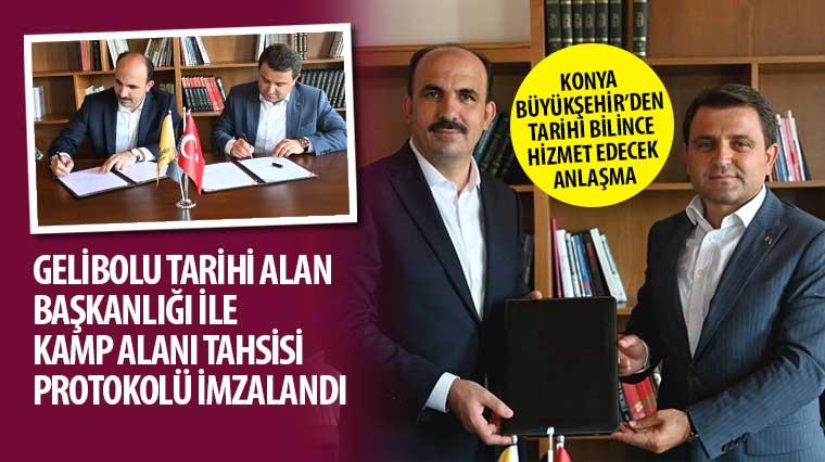 Konya Büyükşehir'den Tarihi Bilince Hizmet Edecek Anlaşma